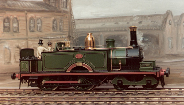 NLR class 51 4-4-0T Peter K kit 4mm