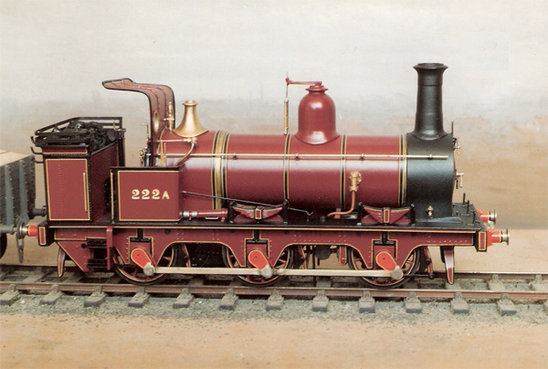 MR Kirtley 0-6-0T Peter K kit 7mm