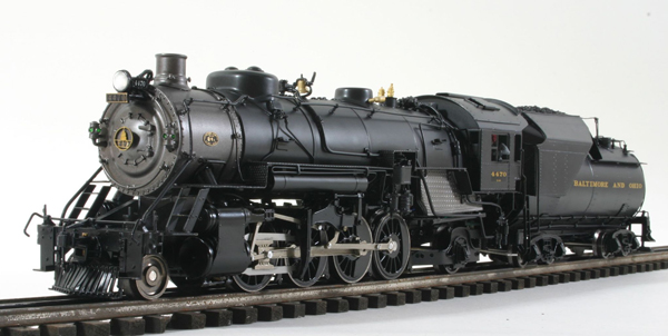 Baltimore & Ohio Q-4b 2-8-2 (Mikado)